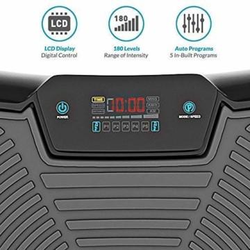 Vibrationsplatte mit Leisem 1000-Watt Motor