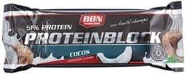 BBN Hardcore Protein Energieriegel, Kokos, 15 Stück