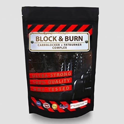 block burn carbblocker kohlenhydrat blocker und fatburner. Black Bedroom Furniture Sets. Home Design Ideas