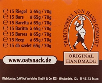 Davina Oat Snack Riegel