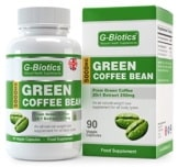 Grüne Kaffee Bohnen
