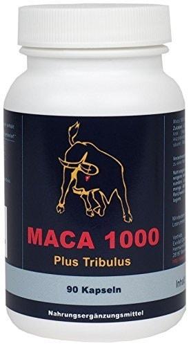 Maca 1000 plus Tribulus, 90 Kapseln
