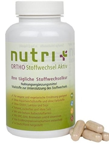Stoffwechselaktivator Nutri-Plus - 120 Kapseln