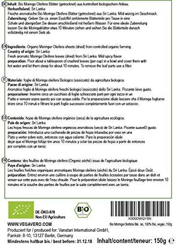 Moringa Oleifera Blätter