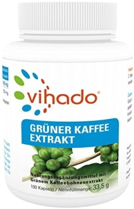 Grüner Kaffee Kapseln